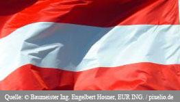 Presseverteiler Österreich - Flagge von Österreich