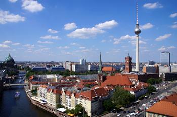 Presseverteiler Berlin - Vogelperspektive über Berlin